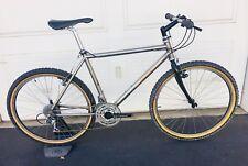 Gary Fisher Prometheus Vintage Titanium Mountain Bike Bullseye Cranks