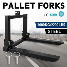1T Pallet Forks Tines Tractor lifting cat 1 or 2