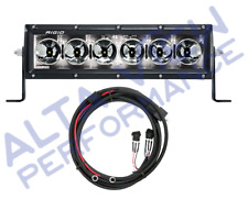 "Rigid Industries Radiance+ LED Light Bar 10"" (White) Back Light w/ Harness"