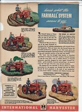 New ListingFarmall System International Harvester Advertisement Cub A B H M 1940's