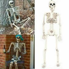 Kunststoff gegliederten menschliches Skelett Dekoration Halloween Party Prop-