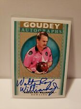 Walter Ray Williams Jr 2019 UD Goudey Goodwin Champions Autograph PBA Bowling