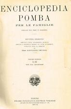 ENCICLOPEDIA POMBA PER LE FAMIGLIE vol. II