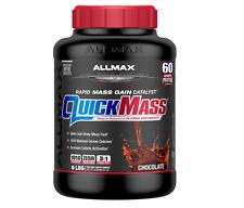 NEW ALLMAX NUTRITION QUICK MASS RAPID MASS GAIN CATALYST CHOCOLATE 6 lbs 2.72 kg