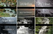 SIMPLY EARTH Relaxation 6 CD Set 6 Hours of NATURE Sounds NO MUSIC Sleep Relax