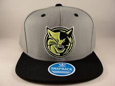 Charlotte Bobcats NBA Adidas Snapback Hat Cap Gray Black