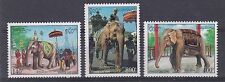 Elephants Lao Stamps