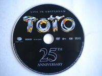 TotoLive in Amsterdam 25th anniversaryDVD2003pop rock music Africa Rosanna