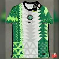 Authentic Nike Nigeria 2020/21 Player Issue Vaporknit Home Jersey. BNWT, Size M.