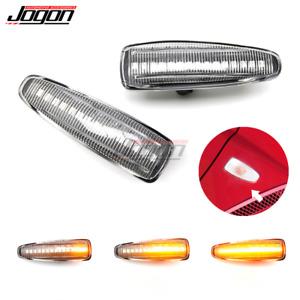 LED Dynamic Fender Side Marker Light For Mitsubishi Lancer Evo X Outlander Sport