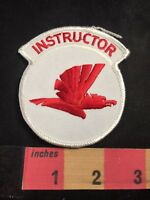 INSTRUCTOR Patch - Red Bird In Flight 80E6