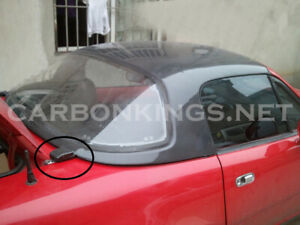CarbonKings FRP Hard Top with Window For Mazda MX5 NA NB Roadster