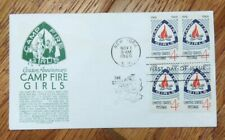 US FDC COVER 1960 *ANDERSON* CAMP FIRE GIRLS, BLOCK CACHET
