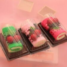 Cake Shape Towels Cotton Face Hand Washcloth With Boxes Cute Creative Gift 3pcs