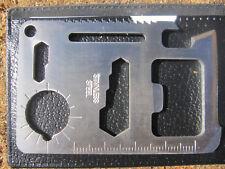11 in 1 Multifunktions Survival Outdoor Tool Messer Säge Kompass Öffner usw.
