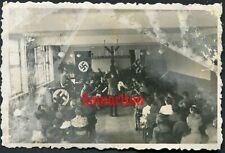 E5 WW2 ORIGINAL PHOTO OF GERMAN WEHRMACHT BOY SCOUTS BANDSMEN
