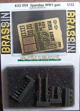 EDUARD BRASSIN 1/32  SPANDAU WWI gun 632 059 *FREE POSTAGE WITH KIT*