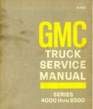Used 1969 Gmc Truck Series 4000-6500 Service Manual