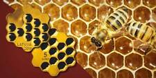 HONEY Honeycomb Cells Shape Silver Coin 5€ Euro Latvia 2018
