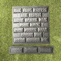 Set of Molds BRICK VENEER for Concrete / Cement Plaster Wall Brick Tiles