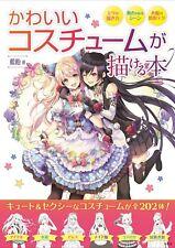 How to Draw Kawaii Costume Japanese Book manga sketch technique anime sexy Cute
