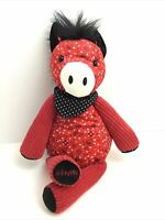 Scentsy Buddy Bandit The Horse Plush No Scent Pack Working Zipper