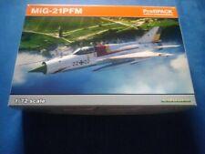 MiG-21 PFM von Eduard in 1:72 Profi-Pack