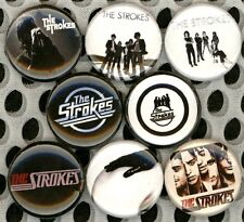 "The Strokes 8 NEW 1"" buttons pins badges"