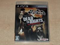 Dead to Rights Retribution PS3 Playstation 3 (R2 Japanese, Plays in English)
