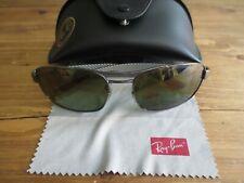 Ray Ban carbon fibre chromance polarized sunglasses.With case.