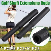 1/5/10 Stk Golf Club Graphite Shaft Extensions Rods Extend Iron Extender Putter