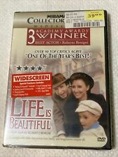 New! Life Is Beautiful Dvd 1999 Collector's Series Widescreen Ed. Factory Sealed