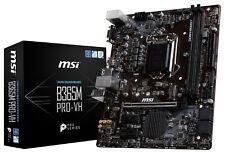 MSI B365M PRO-VH LGA1151 Intel B365 SATAIII 6Gb/s USB3.0 Micro-ATX Motherboard