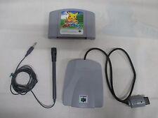 N64 -- Pikachu Genki de Chu -- Can data save! Nintendo 64, JAPAN Game. 22860