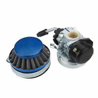 Racing Carb Carburetor w/ Air Filter For 49cc 50cc 80cc 2stroke Motorized Bike #