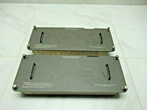 Lot of 2 Laser Precision Corp. Model TD-261C Multimode Optical Module