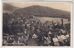 Ansichtskarte Königstein im Taunus - Ortsansicht/Panorama - schwarz/weiß