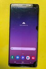 New listing Samsung Galaxy Note 8 - 64Gb - Gray (Sprint) Cracked Glass / Lcd Black Spots