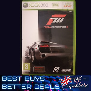 Forza Motorsport 3 Xbox 360 Game TESTED PAL