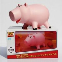 20cm Toy Story Hamm Piggy Bank Pink Pig Coin Box PVC figure Toys with retail box