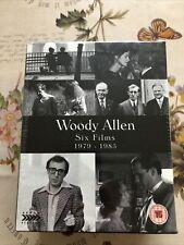 WOODY ALLEN Six Films 1979-1985 6 BLU-RAY Box Set RARE  Arrow - NEW SEALED!