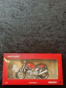 Deceased Estate Ducati Monster Diecast Motorbike Motorcycle 1:12 Minichamps