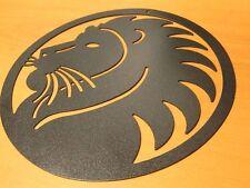 segno zodiacale leone in lamiera ferro taglio laser oroscopo regalo da parete