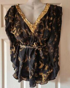 BNWT Ruby Rocks Kaftan Dress Top Size 14