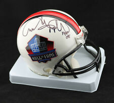 Andre Tippett SIGNED Football Hall of Fame Mini Helmet 2008 PSA/DNA AUTOGRAPHED