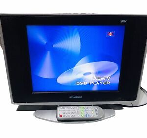 """Sylvania LCD LD155SC8 HDTV DVD Combination 15"""" Flat Screen TV with Remote Works!"""