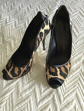 Woman's Giuseppe zanotti animal print Cristal sandals  40/10 heels pump