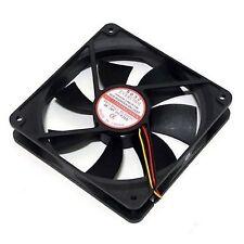 PC Computer Case CPU Cooling Fan Cooler 24V 24Volt 120mm 3Pin 120x120x 25mm RoHS