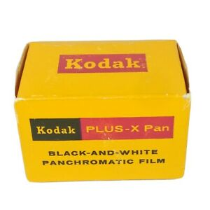 KODAK Plus-X ISO 125 Pan Black & White 35mm Film 20 Exposures Expired '72 [3F06]