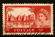 GREAT BRITAIN #310 USED VERY FINE 1955